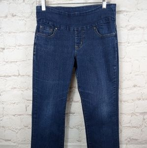 Jag pull on high waisted jeans